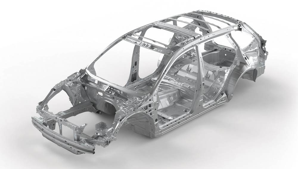 2020 Subaru  Ascent Advanced Ring-shaped Reinforcement Frame
